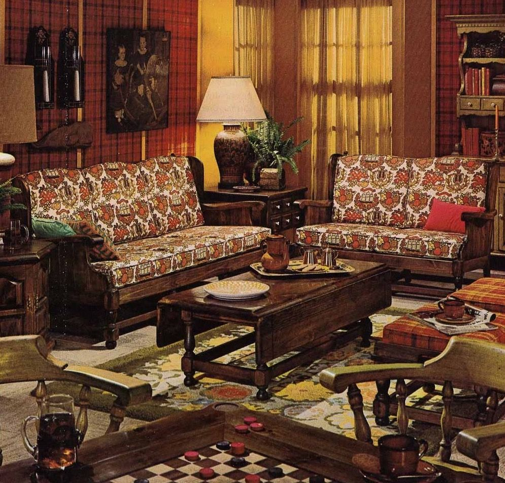 Pin By Eric Roberts On Mid Century Living Rooms 1970s Living