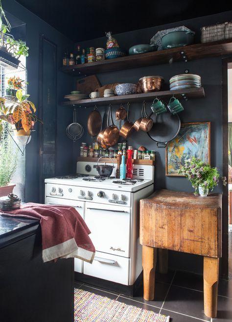 35 Inspiring Eclectic Kitchen Design Ideas Vintage Einrichtungen