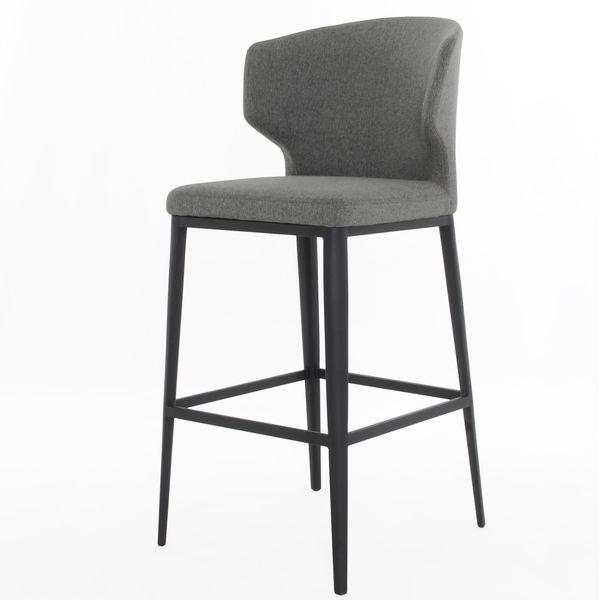 elite living cabo warm grey counter stool