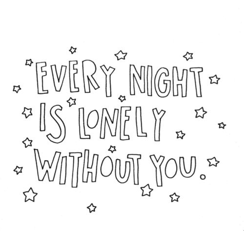 it's true...take away my loneliness!!