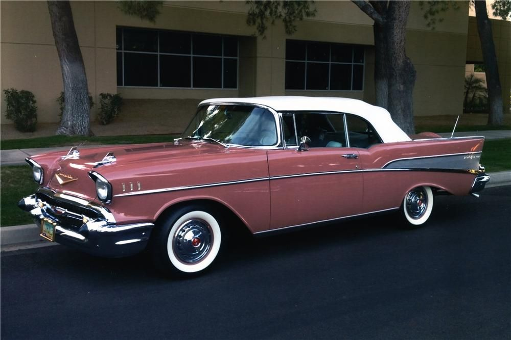 1957 CHEVROLET BEL AIR CUSTOM CONVERTIBLE – Barrett-Jackson Auction Company – World's Greatest Collector Car Auctions