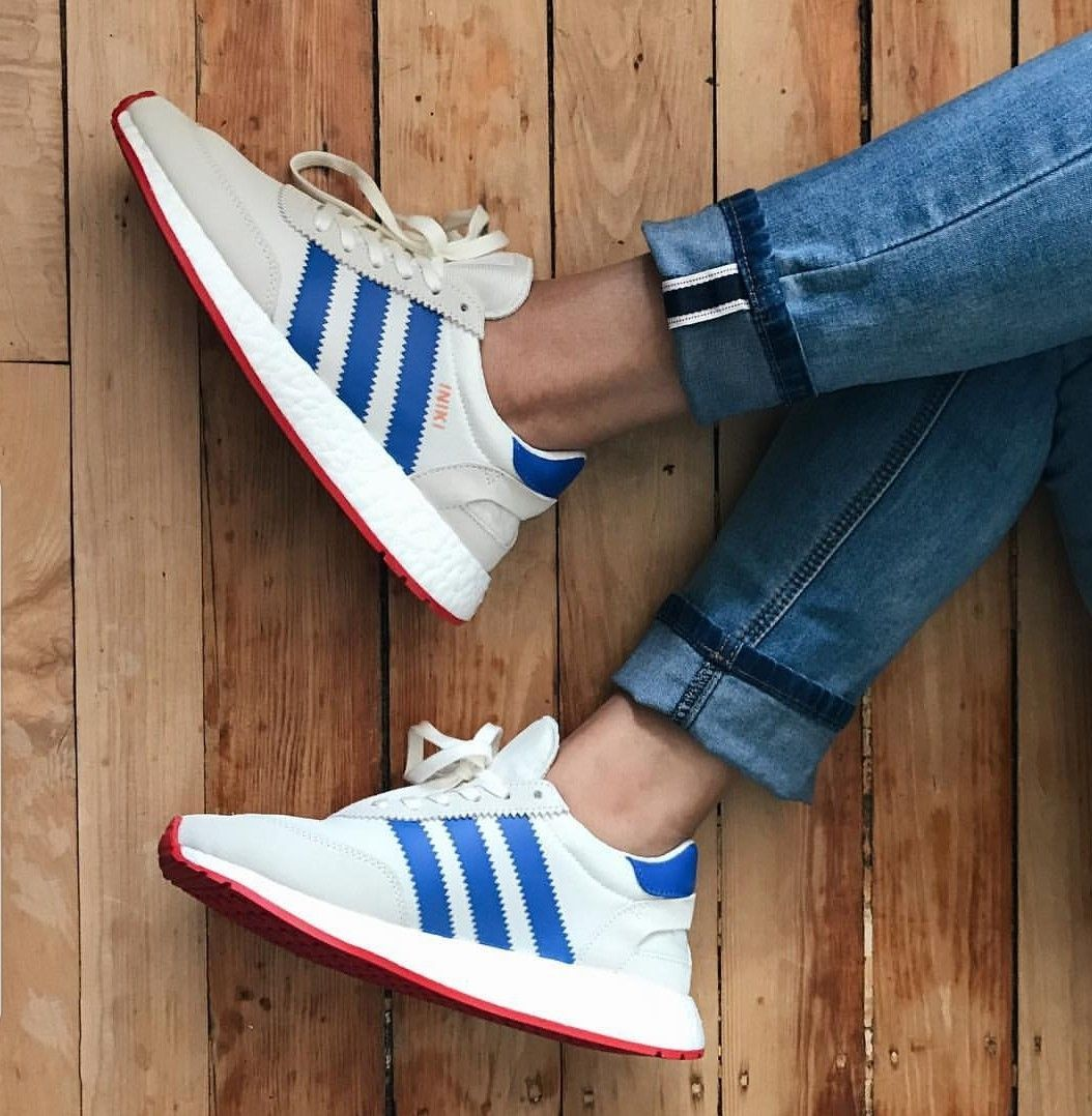 adidas I 5923 (Off White Blue Core Red | Athleisure