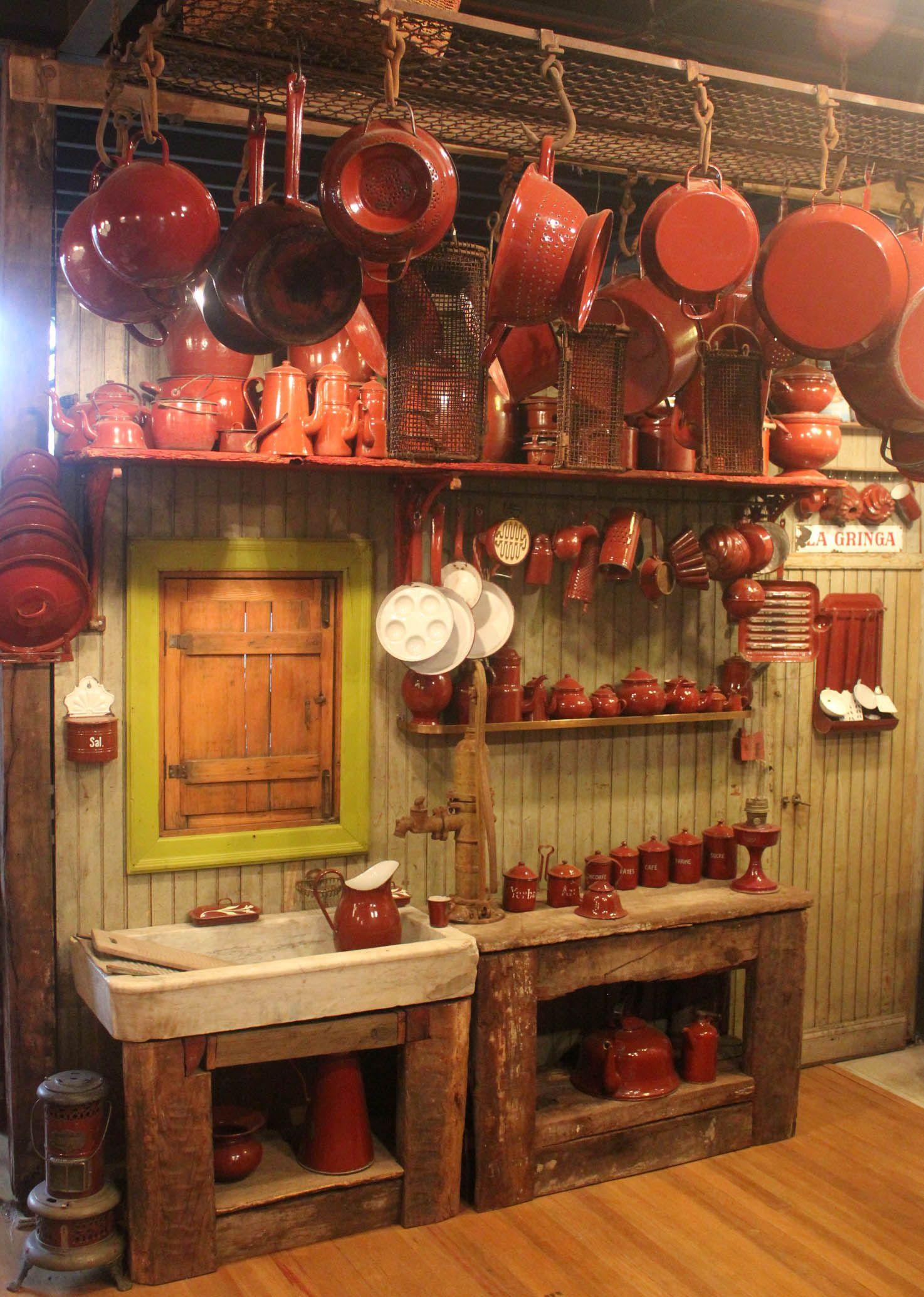 Cocina de campo antigua