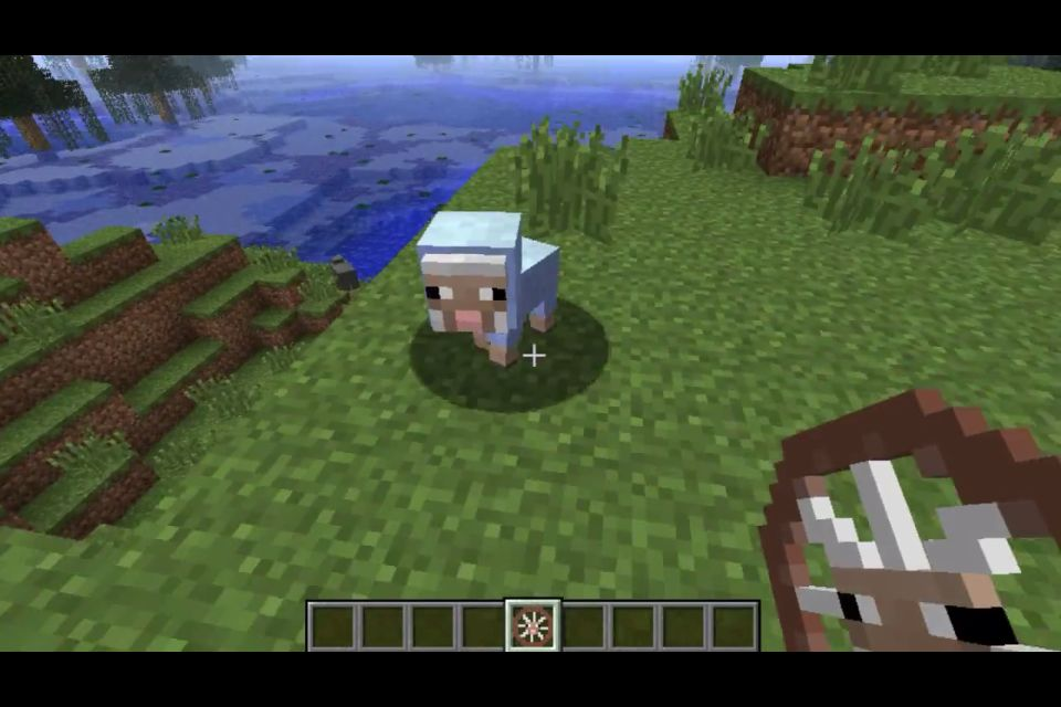 Minecraft - Sheep Bike Mod, BABY SHEEP, and it's blue ...