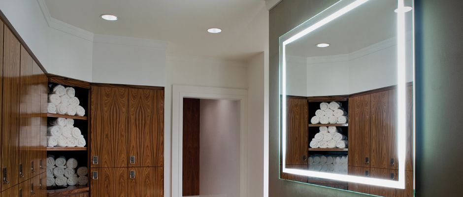 Integrity Lighted Mirror Mirror With Lights Bathroom Mirror