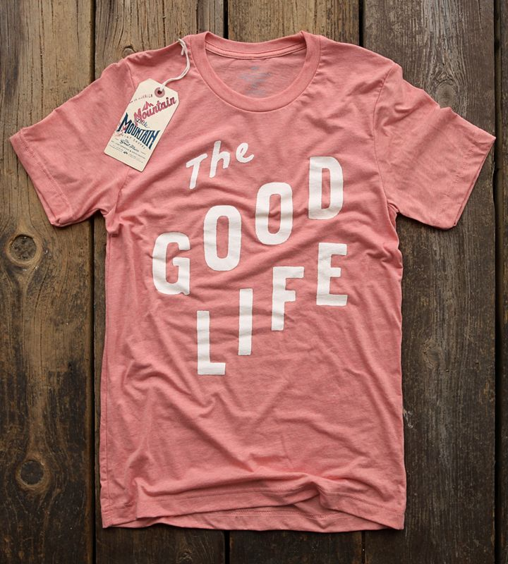 The Good Life | Sunset in 2020 | Tee shirt designs, Life is
