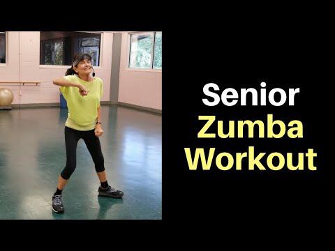 4 minute zumba for seniors  senior fitness zumba