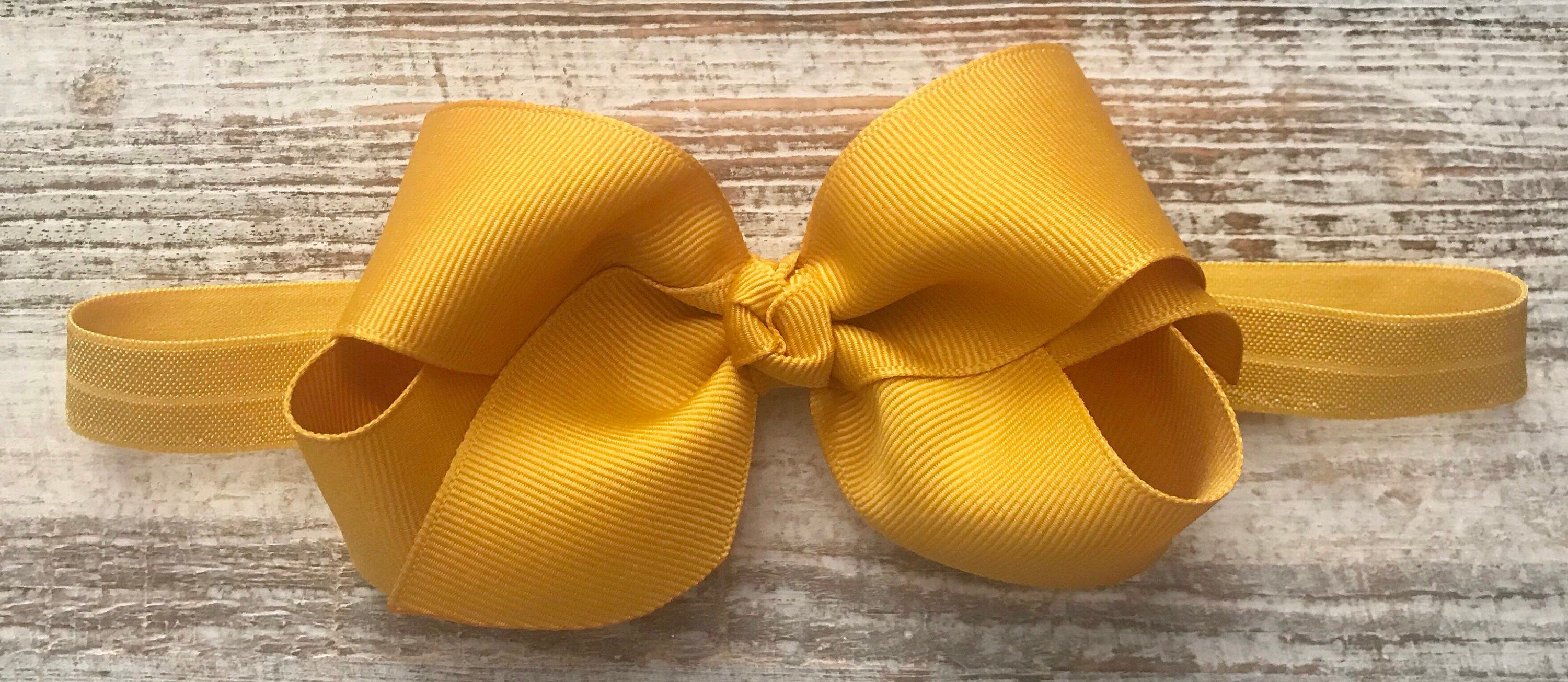 Excited to share this item from my  etsy shop  Mustard Baby Headband ... 2b50f47b681