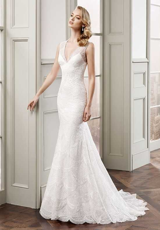 Eddy K MD 175 Sheath Wedding Dress | wedding gowns | Pinterest