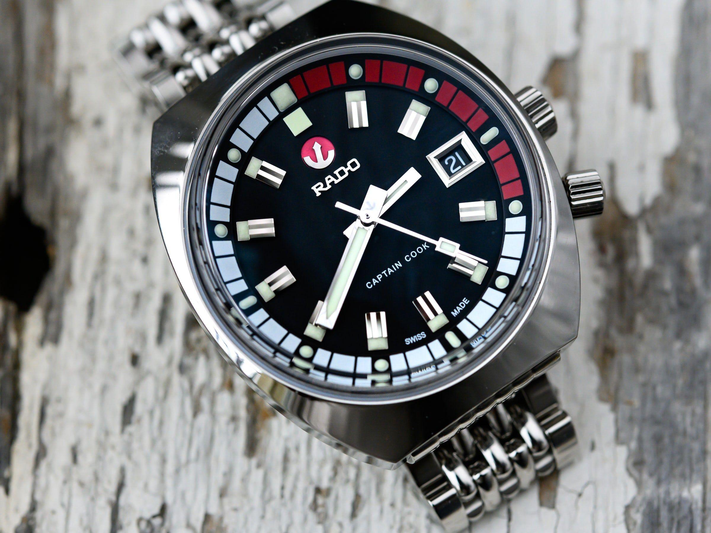 Hands On The Rado Hyperchrome Tradition Captain Cook Mk Ii Hodinkee Rado Captain Cook Watches For Men