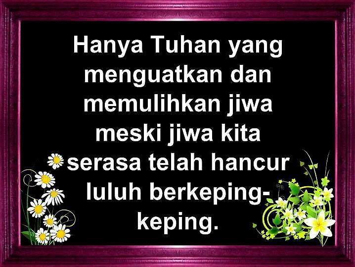 It S True Rohani Bijak Nasihat Ayah