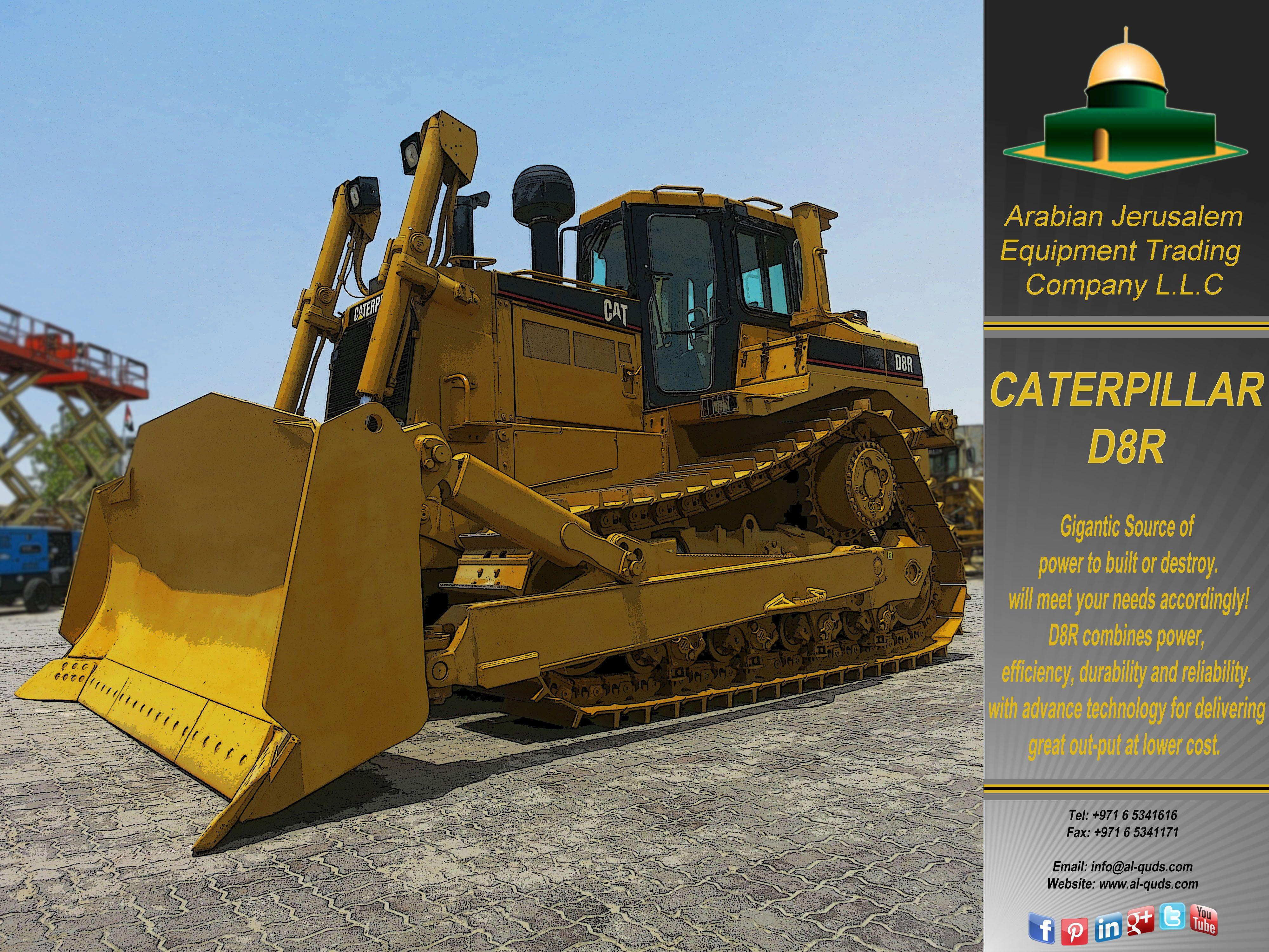 Pin by Arabian Jerusalem Equipment Trading Company on DOZER