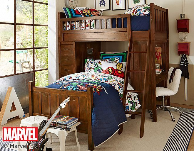 Decorate Your Boys Bedroom In Super Hero Style Marvel