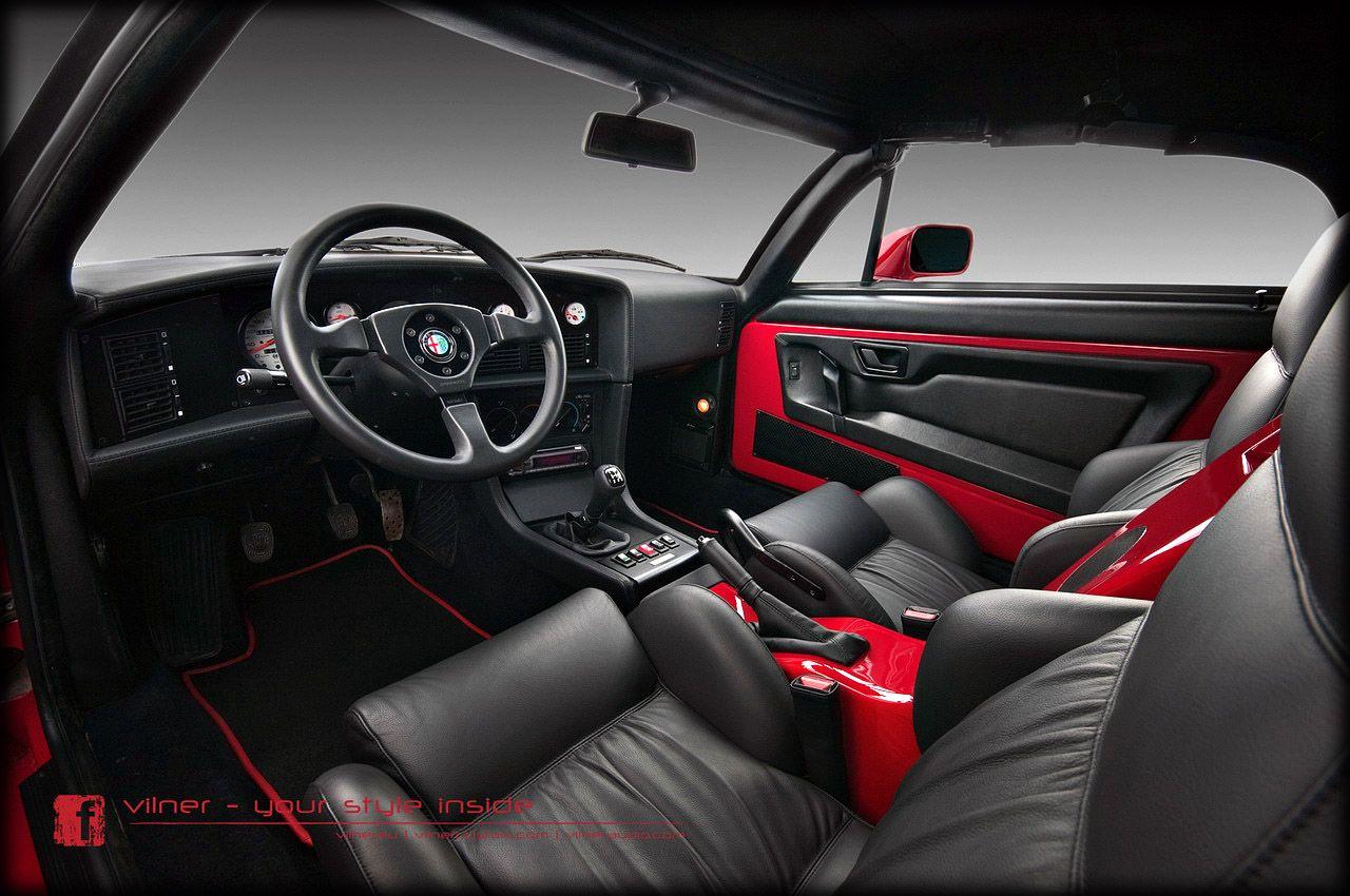 Beautiful Custom Interior Car Designs With 2013 Alfa Romeo Zagato Roadster  By Vilner Studio Interior