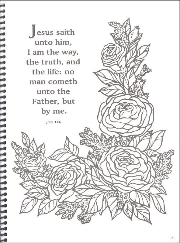 Image Result For Free Printable Coloring Pages Adults Verses