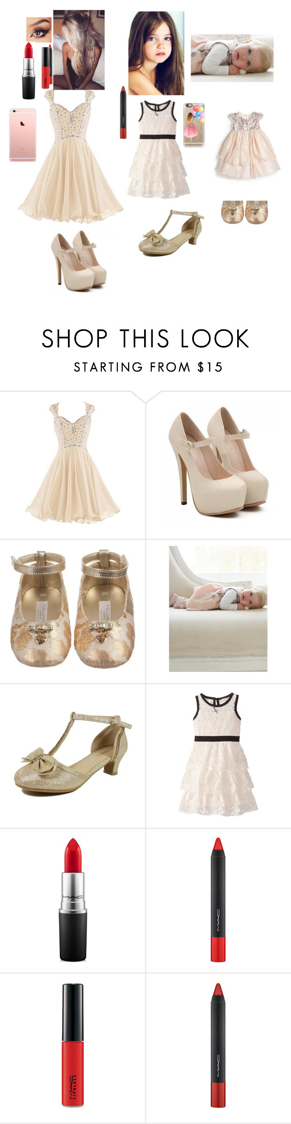 """""""Sem título #938"""" by leonnorgonzalez ❤ liked on Polyvore featuring Dolce&Gabbana, Pink Tartan, Pippa, Appaman, MAC Cosmetics and Casetify"""