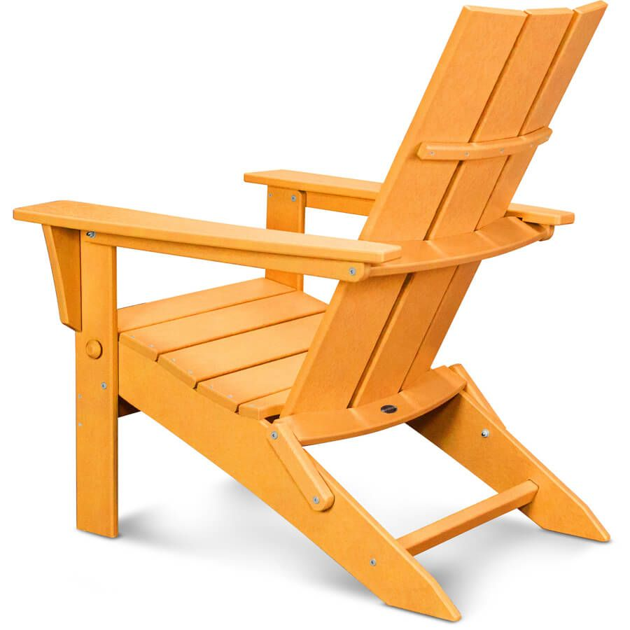 Ordinaire Polywood Modern Folding Adirondack Chair