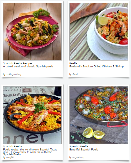 Spice up your evening meal with these inspirational paella recipes from our Dishfolio food bloggers! A delicious tradition indeed.