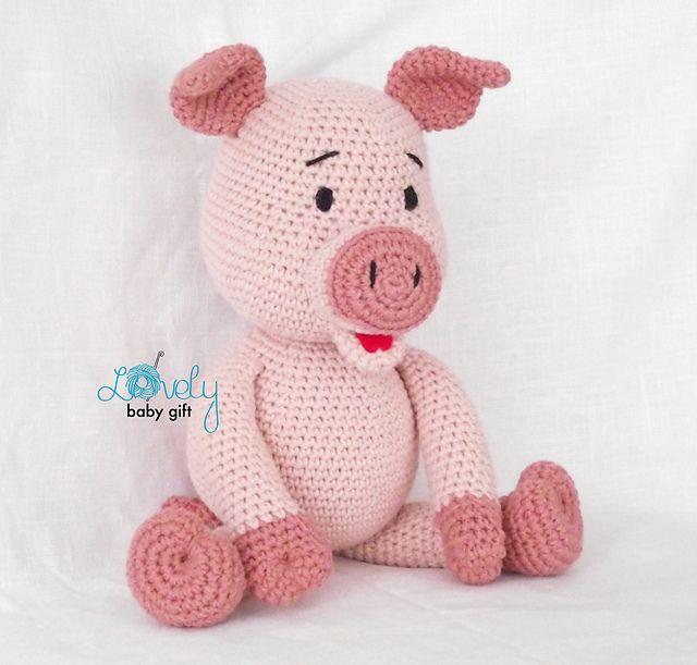 Adorable Crochet Piglets - Free Patterns - DIY 4 EVER   611x640
