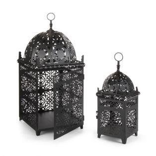Lanterne en métal Noir - Maroco - Les photops - Bougeoirs et ... on