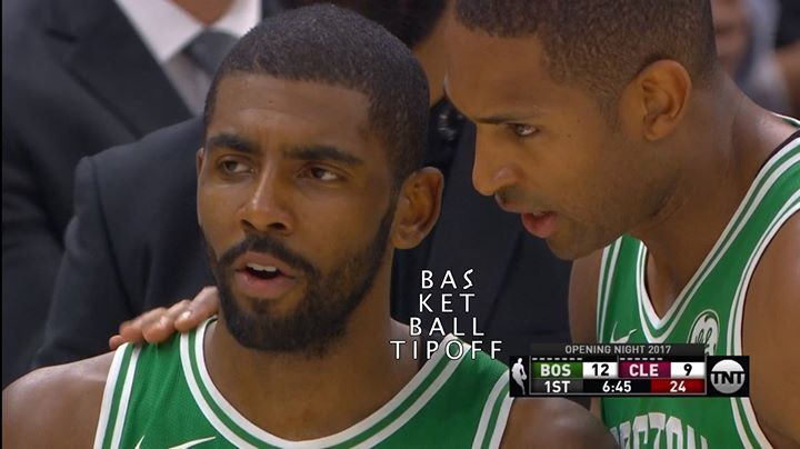 Kyrie Irving's guilt after making the pass that led to