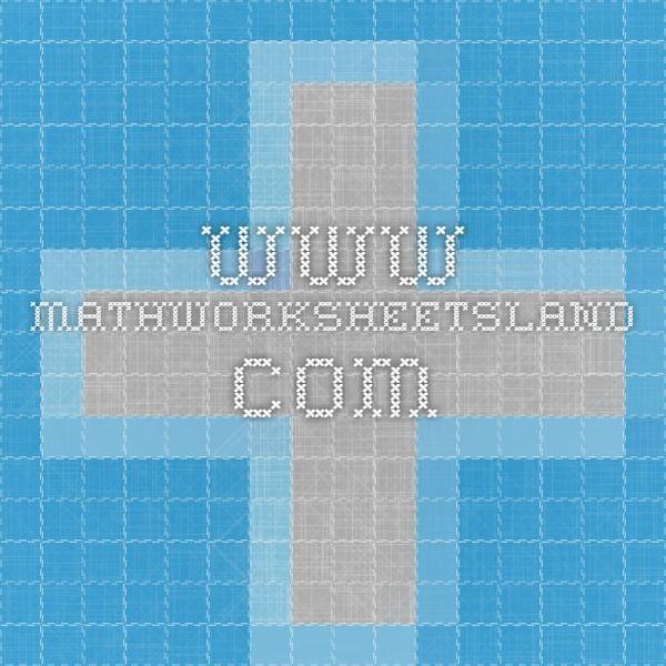 www.mathworksheetsland.com | Teaching - Maths | Pinterest | Geometry ...