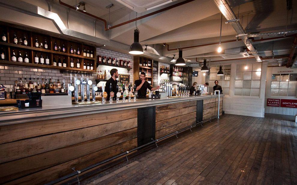 The Parcel Yard Main Bar Lokal 16 Bars Inneneinrichtung