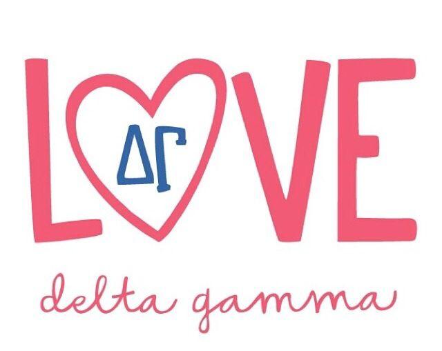 Love Heart Sisterhood Sister Delta Gamma Dg Delta