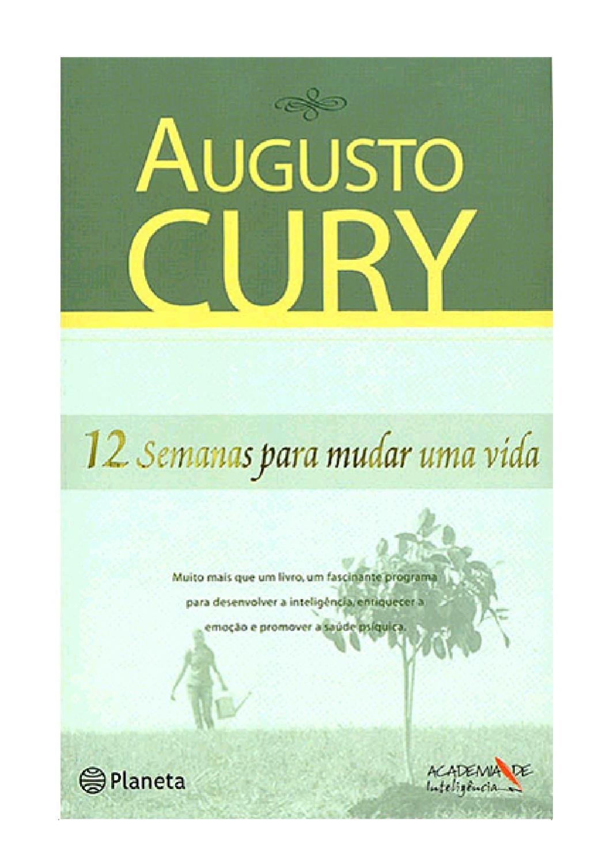 Doze Semanas Para Mudar Uma Vida Augusto Cury Download De