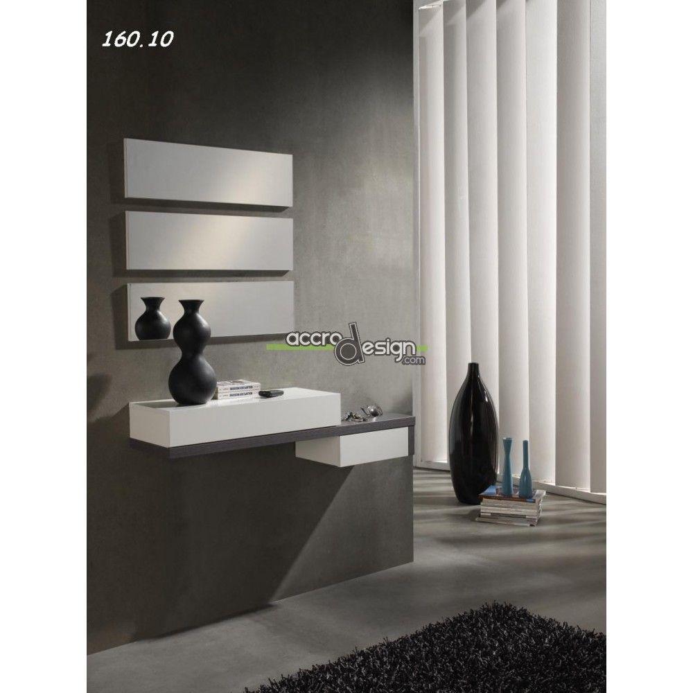 Joli meuble d\'entrée au design original | Hall d\'entrée ...