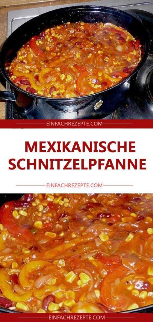 MEXIKANISCHE SCHNITZELPFANNE