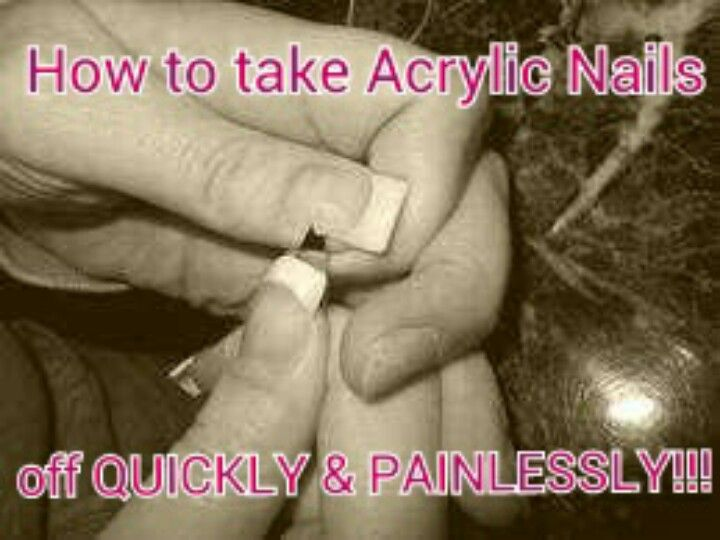 I Read Somewhere To Use Dental Floss To Remove Acrylic Nails I Tried It And Omg It Remove Acrylic Nails Take Off Acrylic Nails Acrylic Nails At Home
