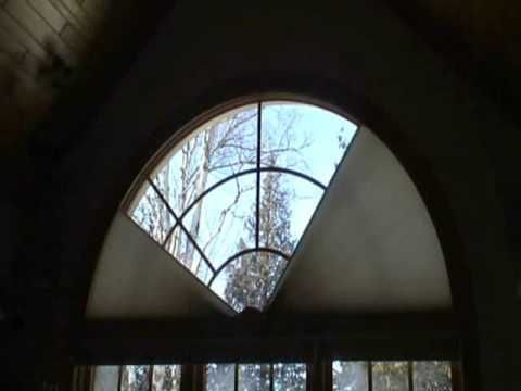Arch shaped windows are some of the most challenging to do for Motorized shades for arched windows