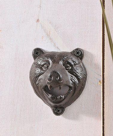 Another great find on #zulily! Bear Head Bottle Opener #zulilyfinds