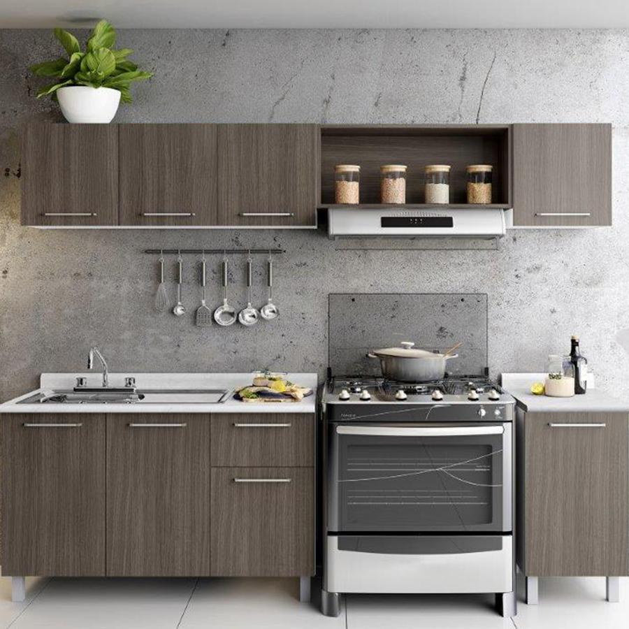 Cocina bertolini toscana color roble dakar room - Cocinas color roble ...