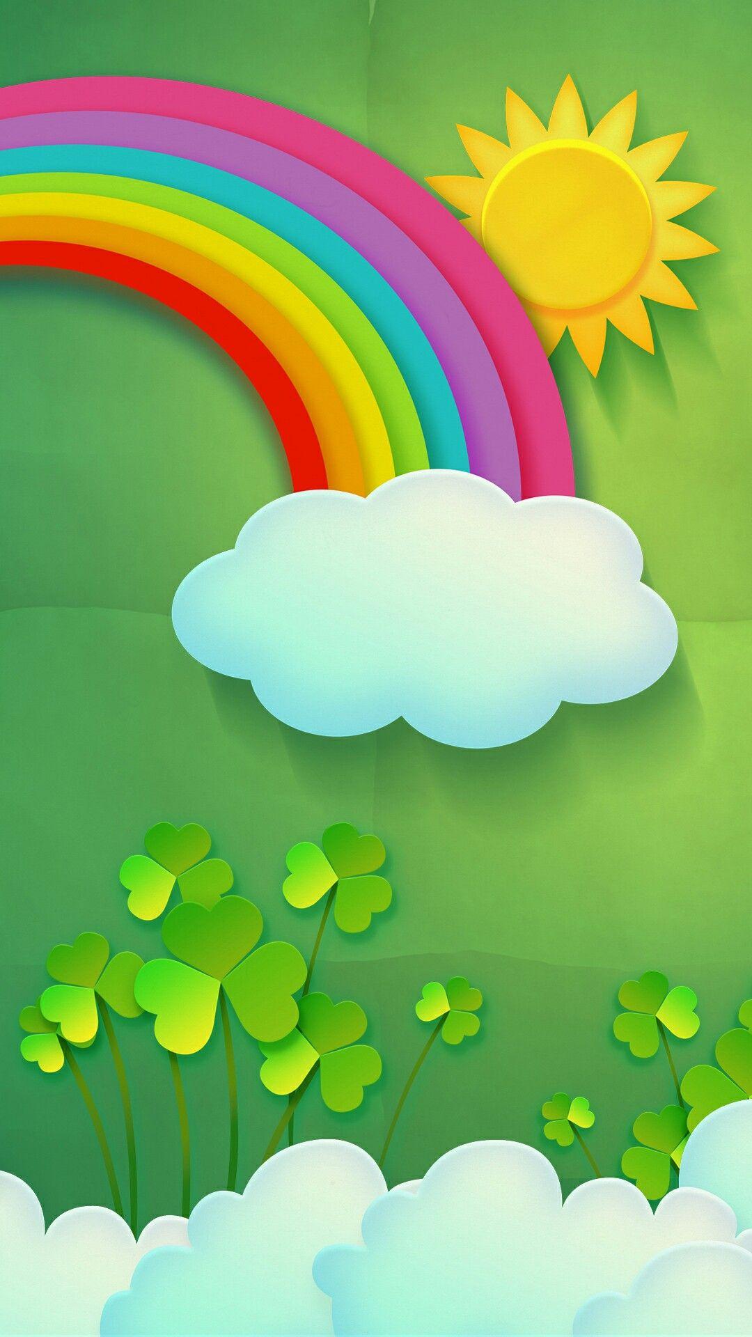 Irish Rainbow | Wallpapers | Pinterest | Smartphone hintergrund ...