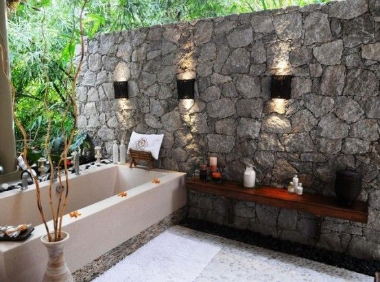 outdoor stone wall ideas shapeyourminds com