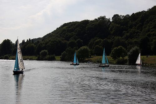 Kemnader See, late summer