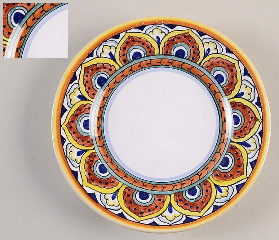 Umbria Salad Plate By Vietri Italy Salad Plates Plates Italy