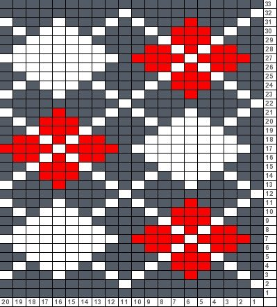 Tricksy Knitter Charts: argyle (70775) | Charts for needlework ...