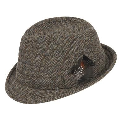 5dd0175dd The Orkney Harris Tweed Trilby Hat | Hats and Caps | Trilby hat ...