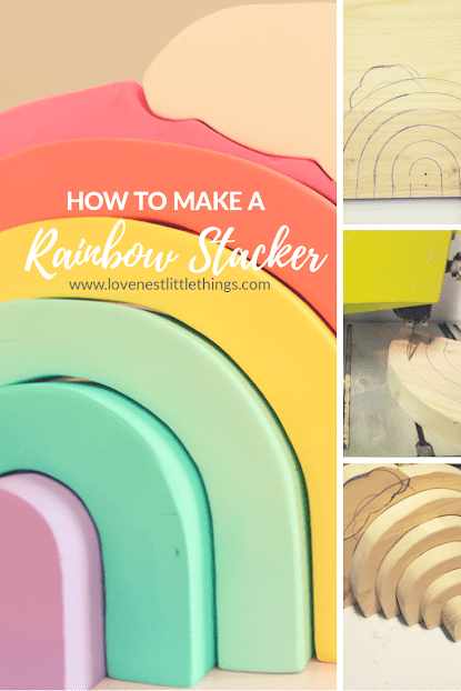 How to: Make a Rainbow Stacker