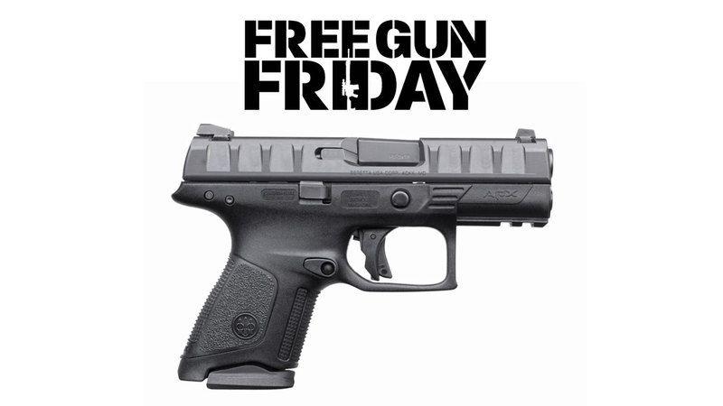 September Free Gun Friday: Beretta APX Compact Pistol   Self Defense