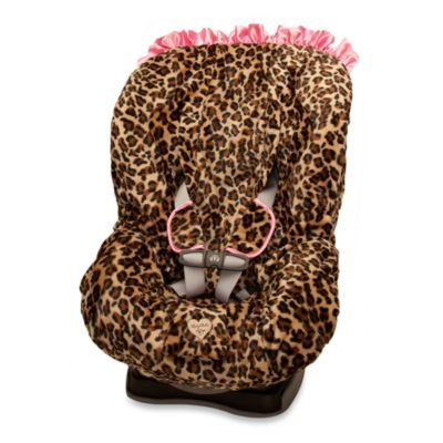 Baby Bella Maya™ Toddler Car Seat Cover in Lollipop Leopard ...