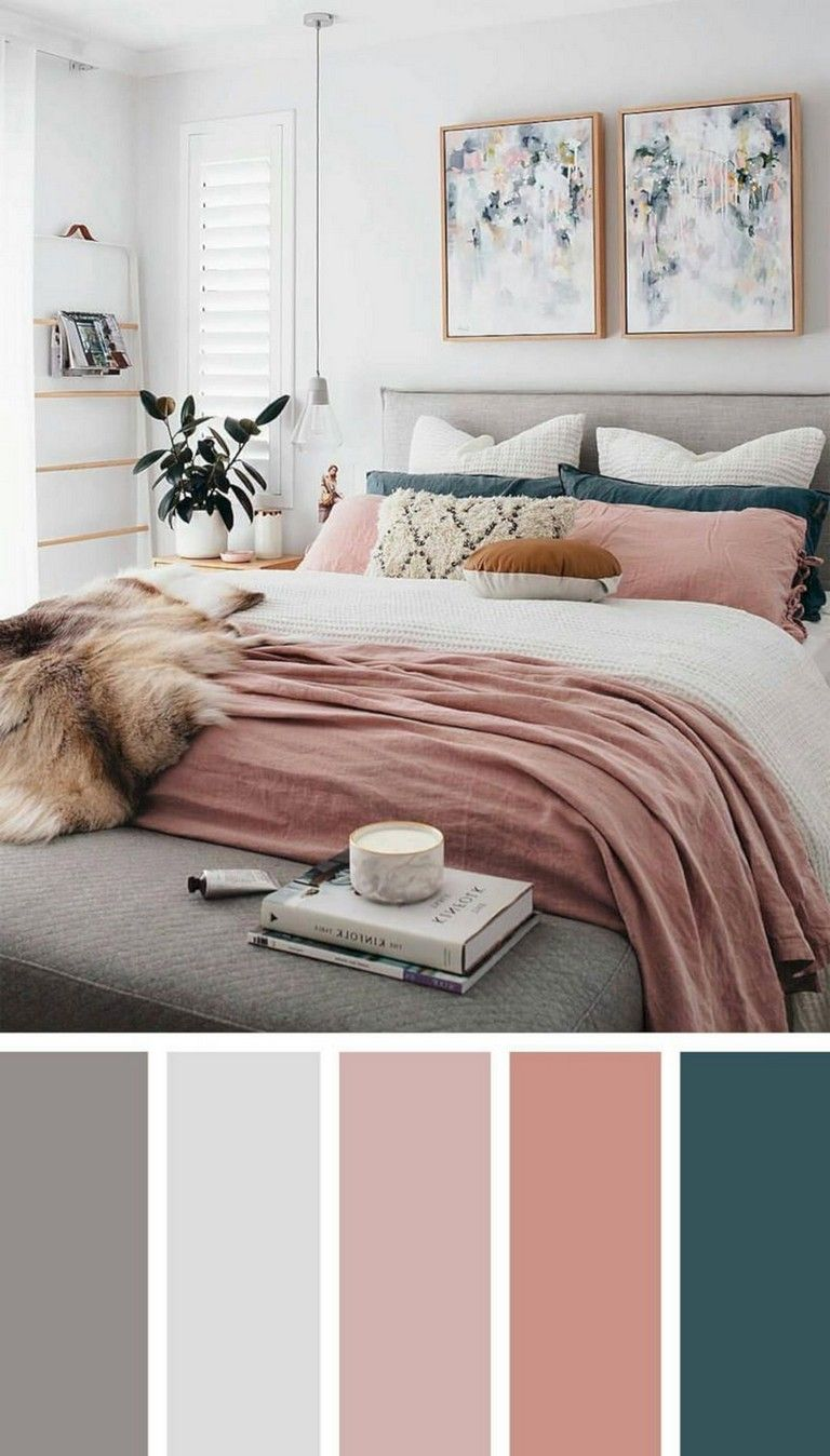25+ Inspiring Chic Home Color Schemes And Decorations To Get An Pretty Interior