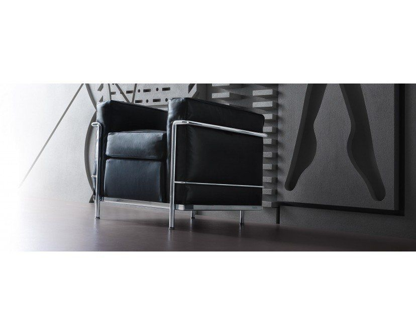 LC 2 Poltrona Sessel Pierre jeanneret and Bauhaus