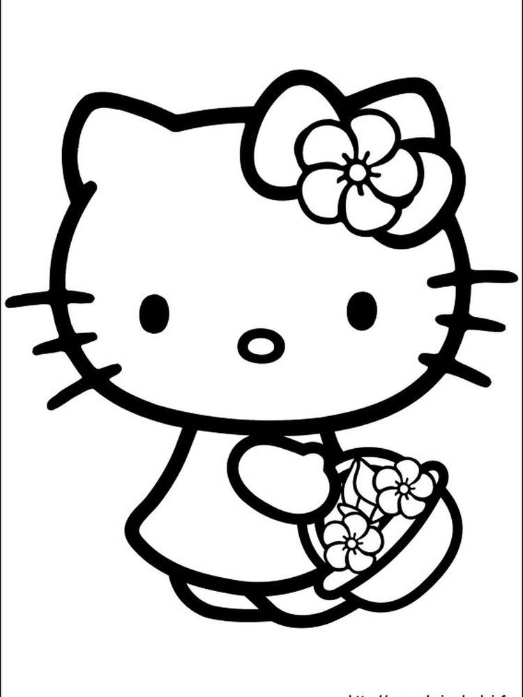 Hello Kitty Coloring Pages Games When We First Heard Hello Kitty The First One That Occurre In 2020 Hello Kitty Colouring Pages Kitty Coloring Hello Kitty Printables