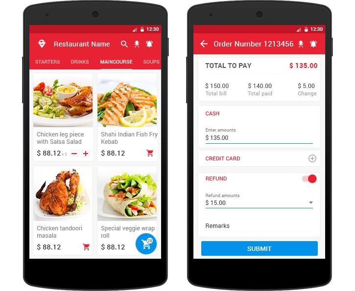 Best Online Food Ordering App among the best Developed