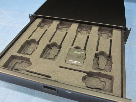 19 rack drawer cnc foam inserts 19