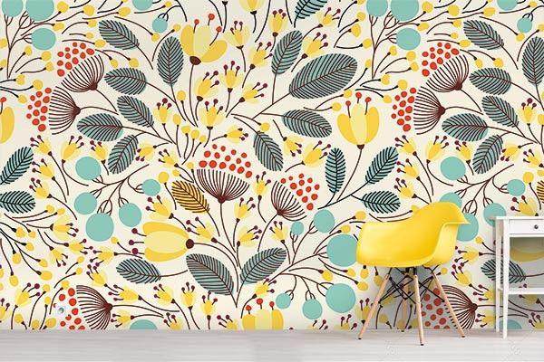 papier peint scandinave l 39 air de rien deco papier. Black Bedroom Furniture Sets. Home Design Ideas